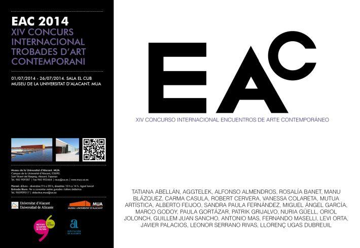 Cartel y hoja de sala - EAC 2014