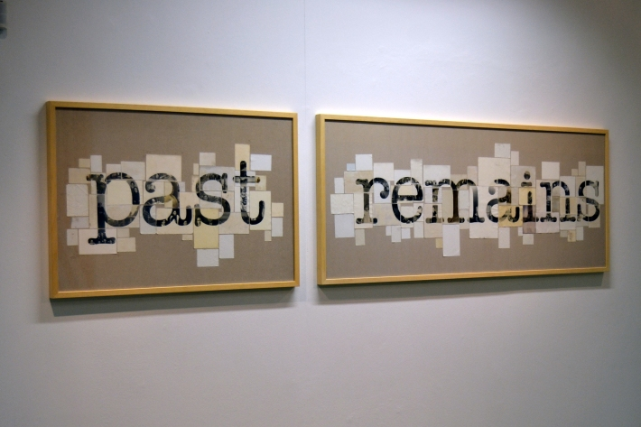 Past remains, Collage fotográfico, 2014