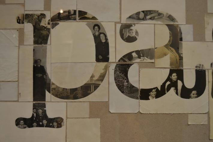 Past remains (detalle), Collage fotográfico, 2014